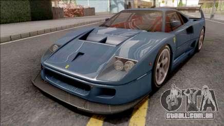 Ferrari F40 LM 1989 para GTA San Andreas