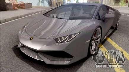 Lamborghini Huracan 2015 Grey para GTA San Andreas