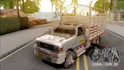 Ford F-350 Con Estacas Grey para GTA San Andreas