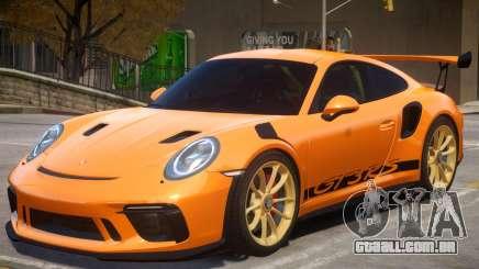 2018 Porsche 911 GT3 RS wheel gold para GTA 4