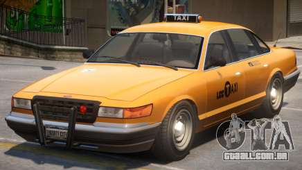 NYC Style Taxi para GTA 4