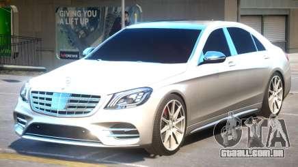 Mercedes Benz S63 AMG V2 para GTA 4
