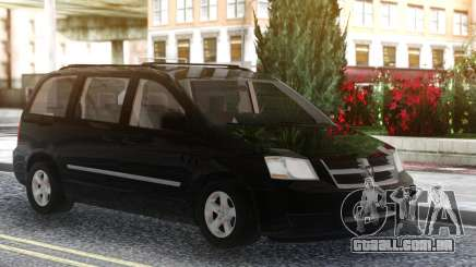 Dodge Grand Caravan 2010 Black para GTA San Andreas