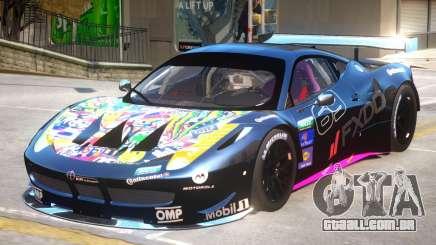 Ferrari 458 GT2 PJ3 para GTA 4