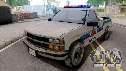 Chevrolet Silverado 1991 Hometown Police para GTA San Andreas