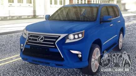 Lexus GX460 2014 Offrad White para GTA San Andreas
