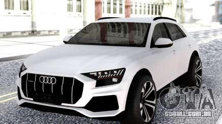 Audi Q8 2019 White para GTA San Andreas