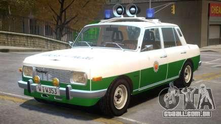 Wartburg 353 Police para GTA 4