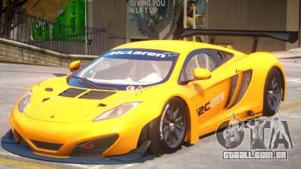 McLaren MP4 PJ4 para GTA 4