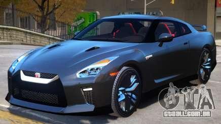 Nissan GTR Premium V2 para GTA 4