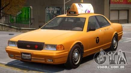 Vapid Stanier Taxi Modern para GTA 4
