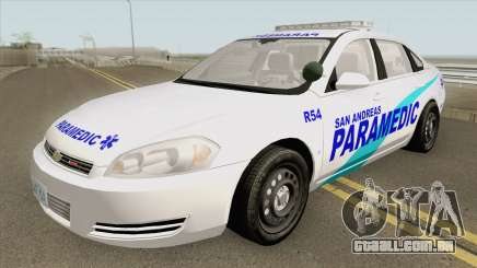 Chevrolet Impala 2012 (San Andreas Ambulance) para GTA San Andreas