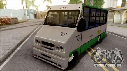 Chevrolet Hidrobus para GTA San Andreas
