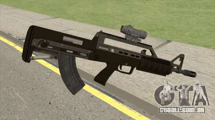 Bullpup Rifle (With Scope V1) GTA V para GTA San Andreas
