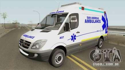 Mercedes-Benz Sprinter (San Andreas Ambulance) para GTA San Andreas