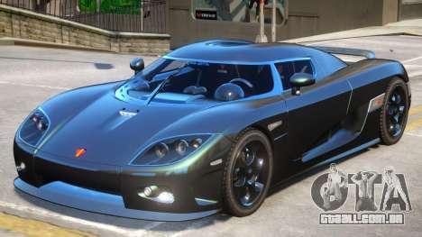 Koenigsegg CCX V2 para GTA 4