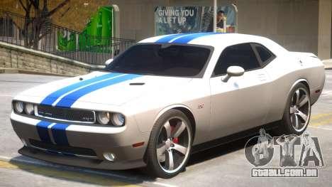 Challenger SRT8 PJ4 para GTA 4