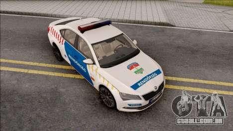 Skoda Superb Magyar Rendorseg para GTA San Andreas