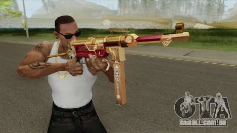 MP-40 (Bloody Gold) para GTA San Andreas
