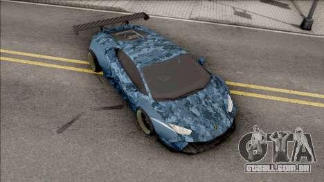 Lamborghini Huracan Performante para GTA San Andreas