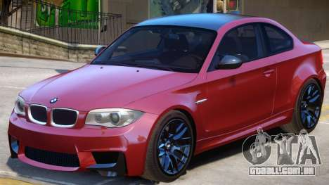 BMW M1 E82 V1.1 para GTA 4