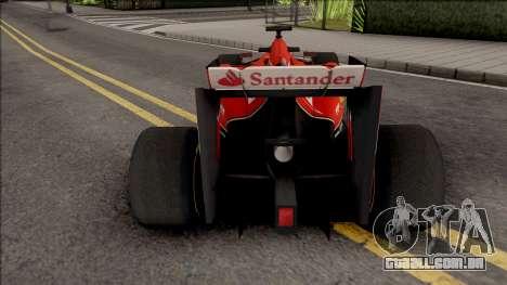 Ferrari F14 T F1 2014 para GTA San Andreas