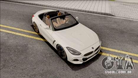 BMW Z4 M40i 2019 para GTA San Andreas