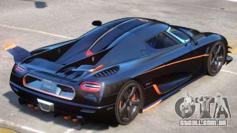 Koenigsegg One Improved para GTA 4