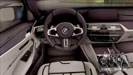 BMW M5 F90 2018 para GTA San Andreas
