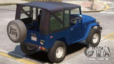 Toyota FJ40 V1.1 para GTA 4