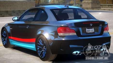BMW M1 E82 PJ para GTA 4