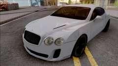 Bentley Continental Supersports 2010 Lowpoly para GTA San Andreas