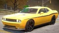 Dodge Challenger SRT V1.1 PJ1 para GTA 4