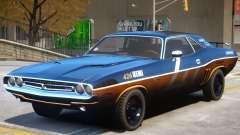 Dodge Challenger V1 PJ4 para GTA 4