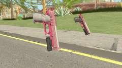 Hawk And Little Pistol GTA V (Pink) V4 para GTA San Andreas