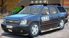 Chevrolet Tahoe V2 SWAT para GTA 4
