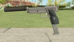 Hawk And Little Pistol GTA V Black (Old Gen) V7 para GTA San Andreas