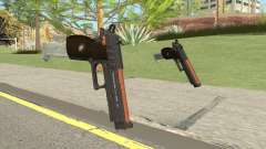 Hawk And Little Pistol GTA V (Orange) V2 para GTA San Andreas