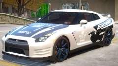 Nissan GT-R V2 PJ2 para GTA 4