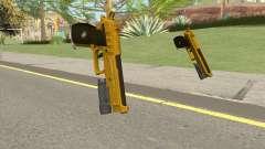 Hawk And Little Pistol GTA V (Gold) V4 para GTA San Andreas
