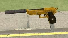 Hawk And Little Pistol GTA V (Gold) V7 para GTA San Andreas