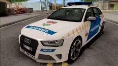 Audi RS4 Avant Magyar Rendorseg Updated Version