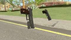 Hawk And Little Pistol GTA V Black (New Gen) V4 para GTA San Andreas
