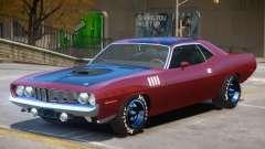 1971 Plymouth Cuda PJ6 para GTA 4