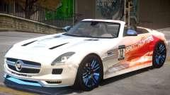 Mercedes Benz SLS Rodster PJ3 para GTA 4