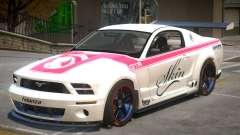 Ford Mustang GTR V1 J4 para GTA 4