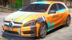 Mersedes-Benz AMG A45 PJ4 para GTA 4