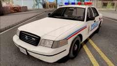 Ford Crown Victoria 1999 SA State Police para GTA San Andreas