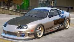 Toyota Supra V2 PJ para GTA 4