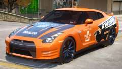Nissan GT-R V2 PJ1 para GTA 4